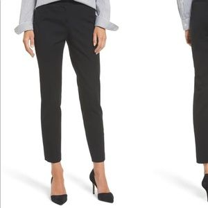 NWT! Halogen Ponte Ankle Pant Black Size 4